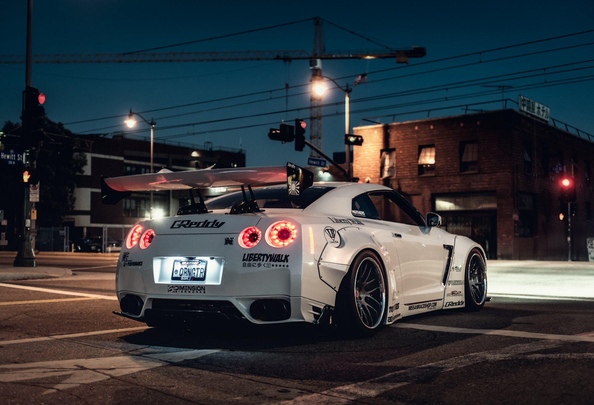 nissan gt-r tuning car hq wallpaper nissan avtooboi liberty walk