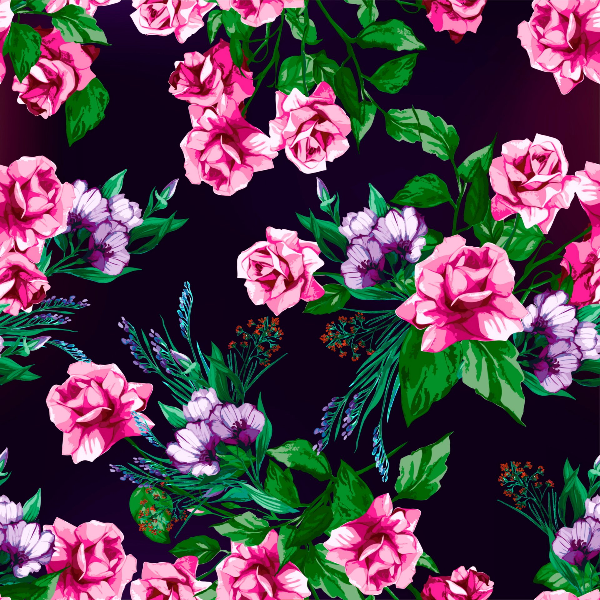 rose floral pattern roses prints textures background flower