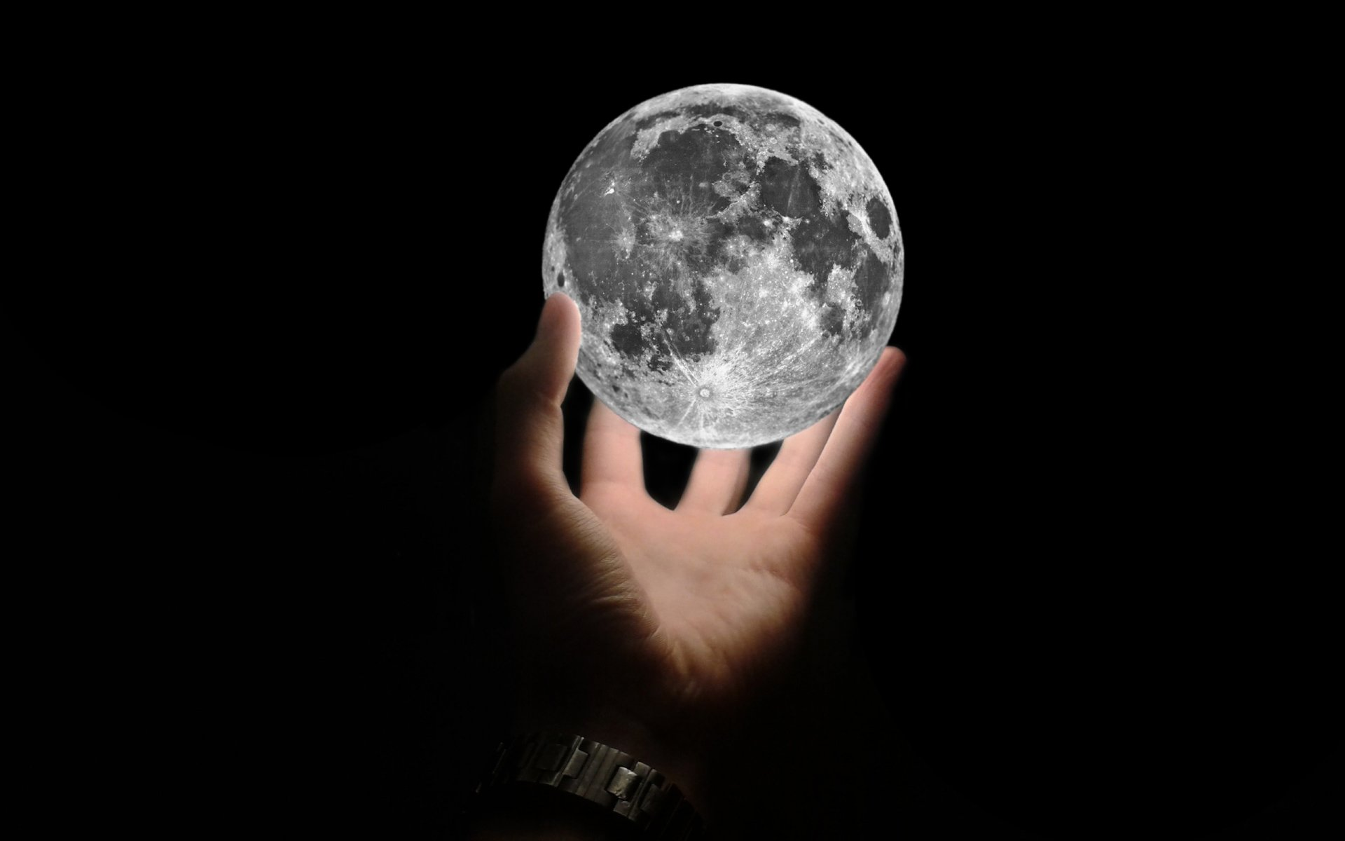 moon satellite hand background black wallpaper widescreen full screen hd wallpapers fullscreen
